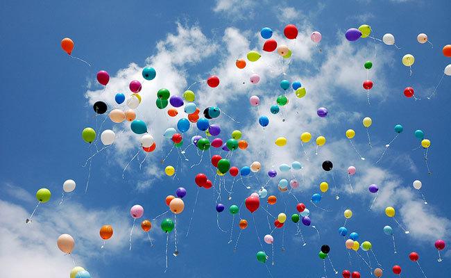 plastik balonlar