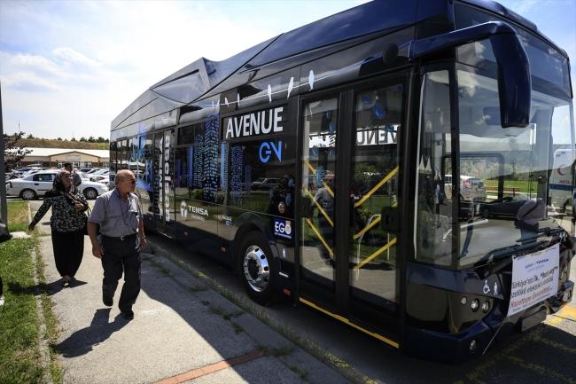 Türkiye'nin ilk yerli elektrikli otobüsü