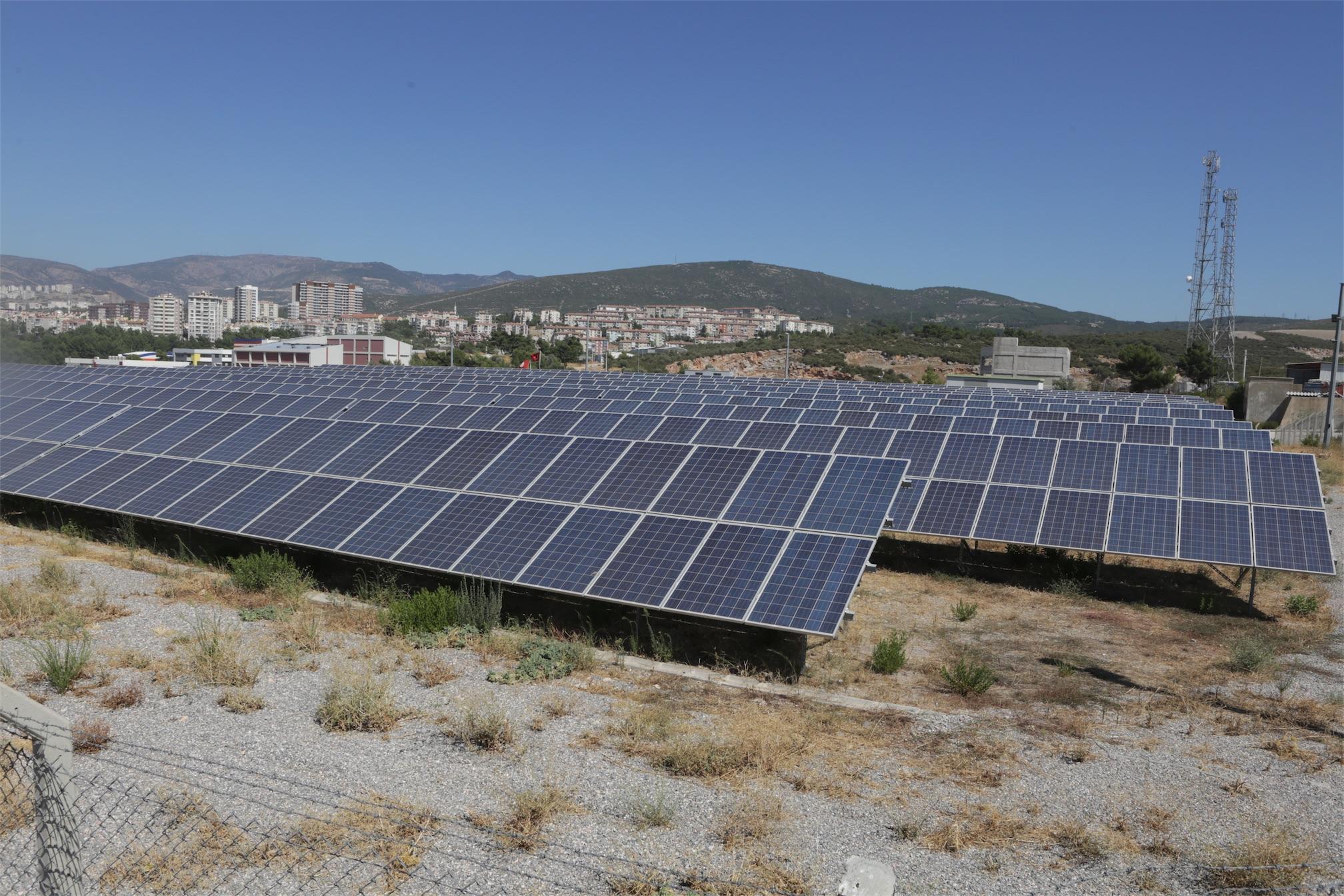 yenilenebilir enerji kaynağı kullanan belediye