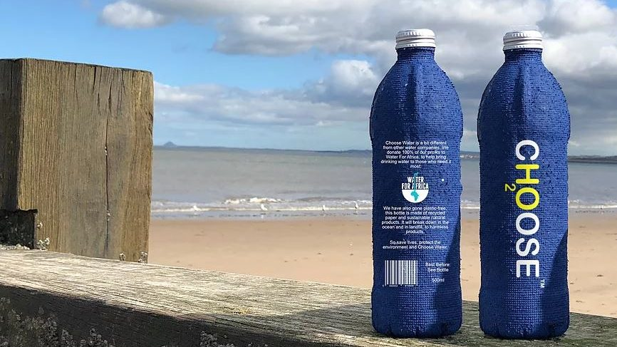 doğada yok olan su şişesi