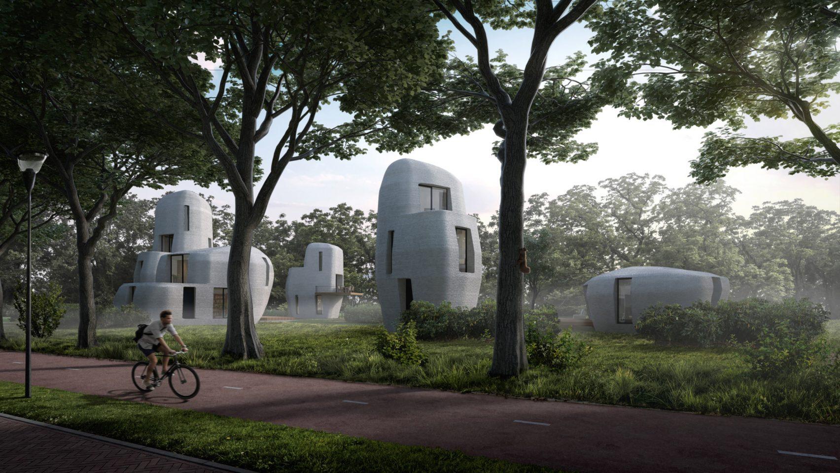 3d yazıcıyla üretilecek sürdürülebilir evler
