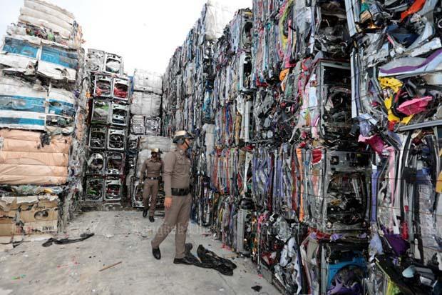 plastik atıklara ve e-atıklara yasak