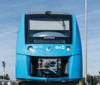 hidrojenle çalışan tren