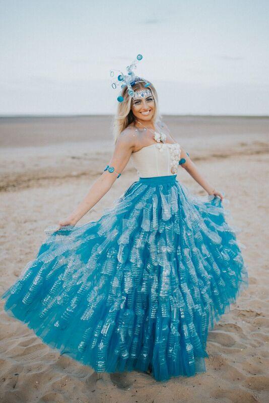 plastik elbise
