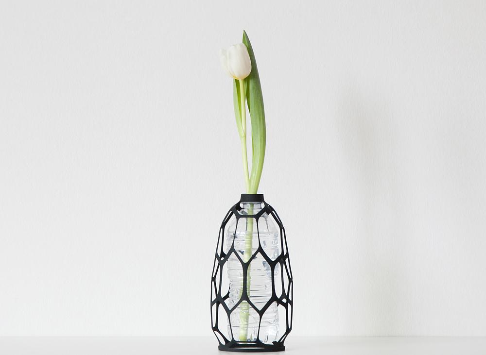 plastik şişelerden vazo